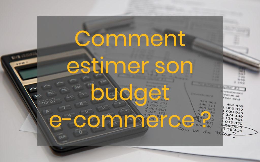comment estimer son budget e-commerce
