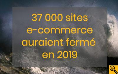 37 000 sites e-commerce auraient fermé en 2019