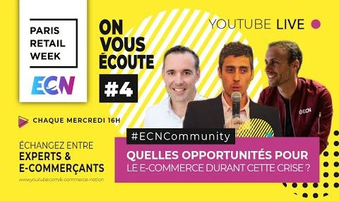 ECN Paris Retail Week et audit site e-commerce