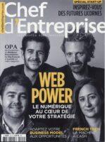 e-commerce journal chef d'entreprise